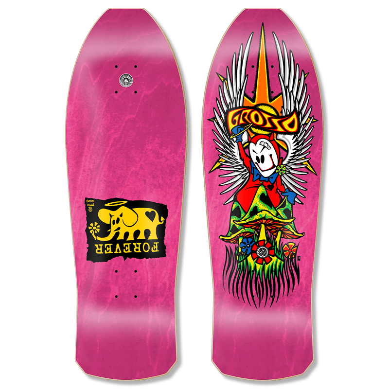 """Image of GROSSO """"FOREVER"""" 1989 reissue HOT PINK"""