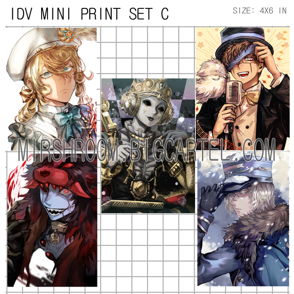Image of IDV Mini Print Set C