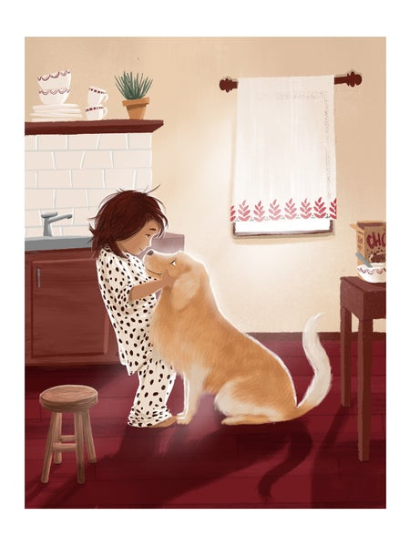 Image of Fine Art Print 'Good Boy'