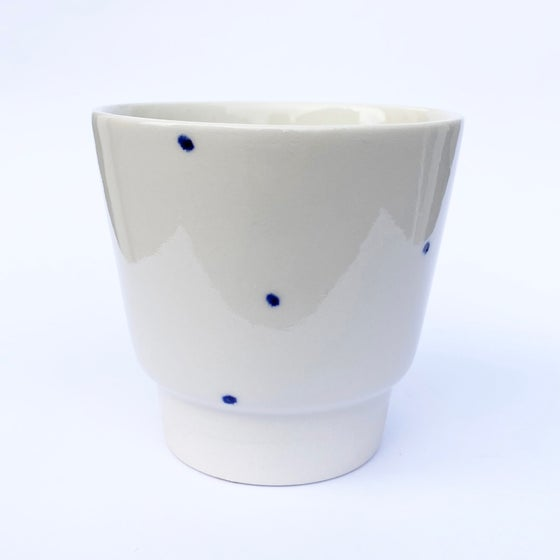 Image of Blue cup 89