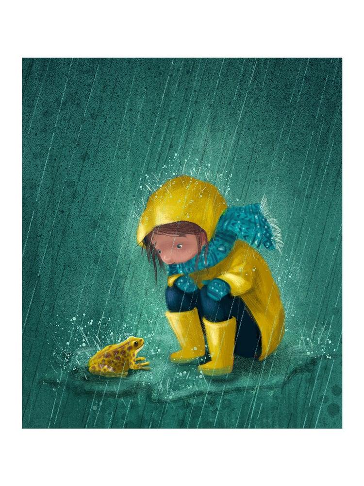 Image of Fine Art Print 'Rainy Day'