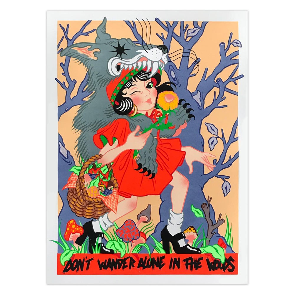 Image of DON'T WANDER ALONE IN THE WOODS - MARIE PONCHON