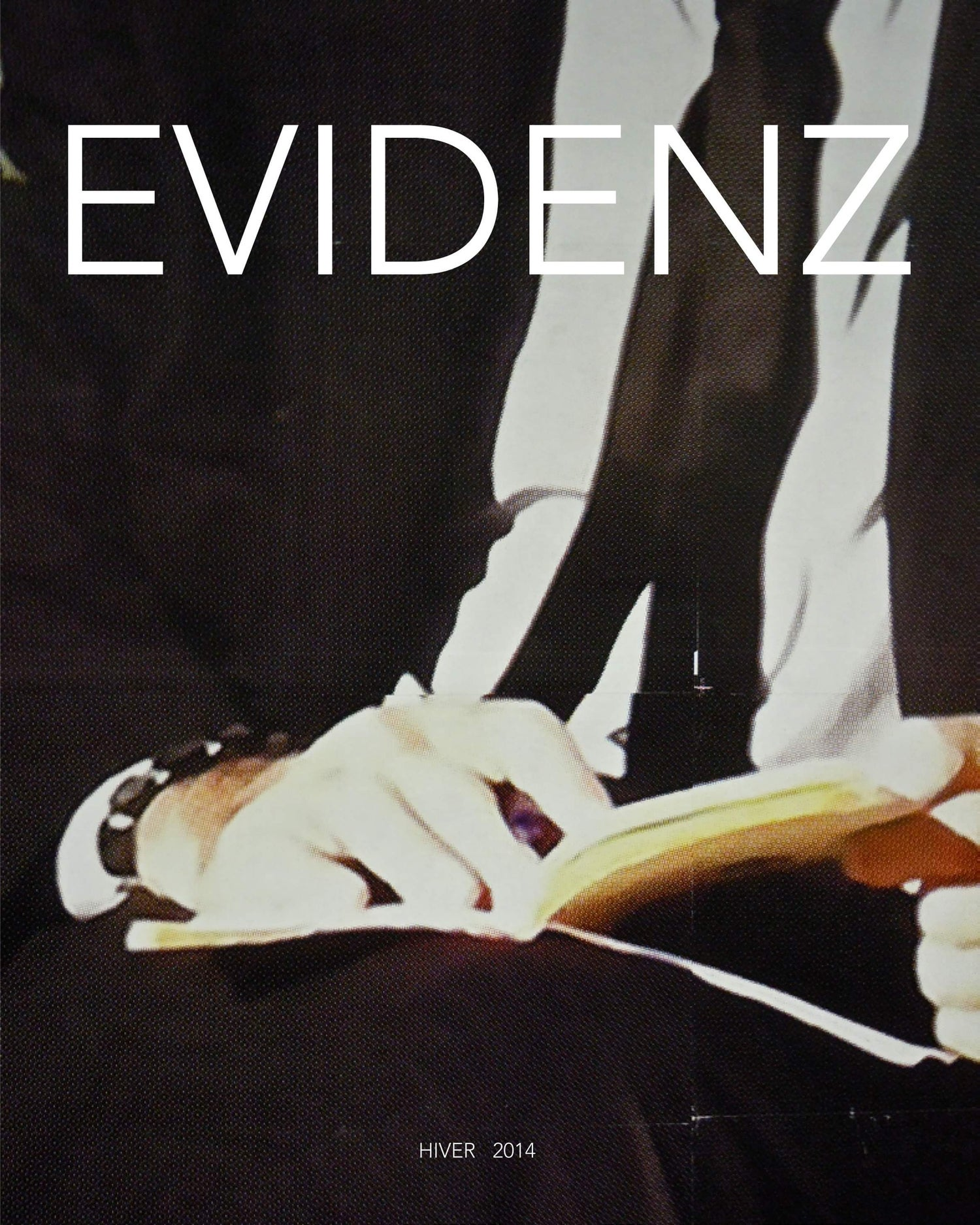 Image of EVIDENZ dir. Christian Globensky, KTA Éditions, Paris, 2014.