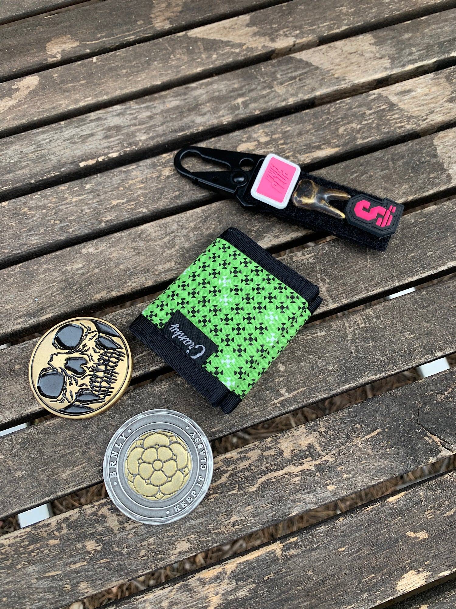 Image of DCH (Double Coin Holder) Zombie/Purple