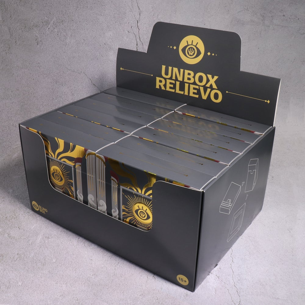 Image of UNBOX RELIEVO BLIND BOX FULL CARTON (14 UNITS)