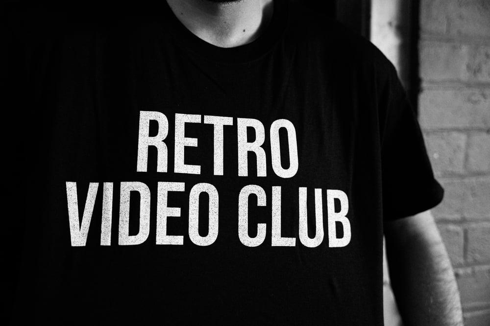 Image of 'Retro Video Club' Logo T