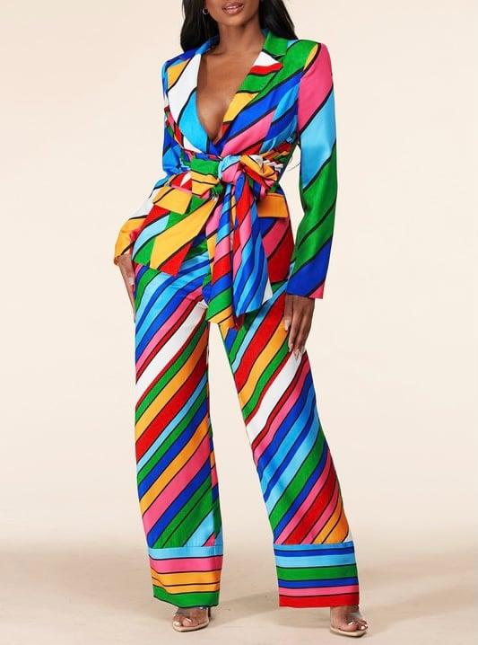 Image of Spectrum Blazer Set