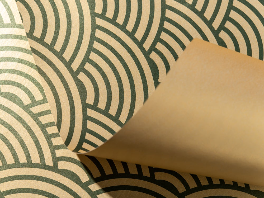 Image of Sunburst Wrapping Paper