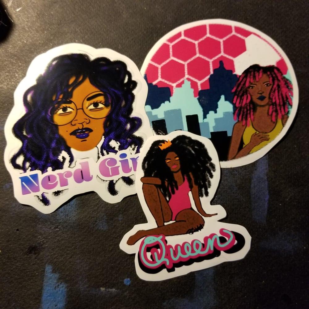Image of Girl Power sticker pack