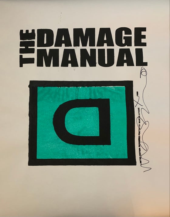 Image of Damage Manual Poster #1