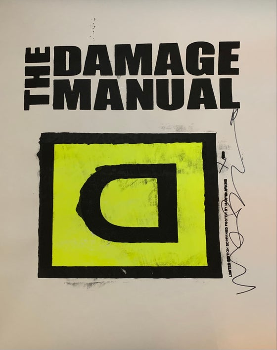 Image of Damage Manual Poster #2