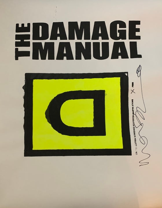 Image of Damage Manual Poster #3