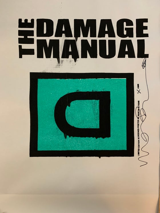Image of Damage Manual Poster #5