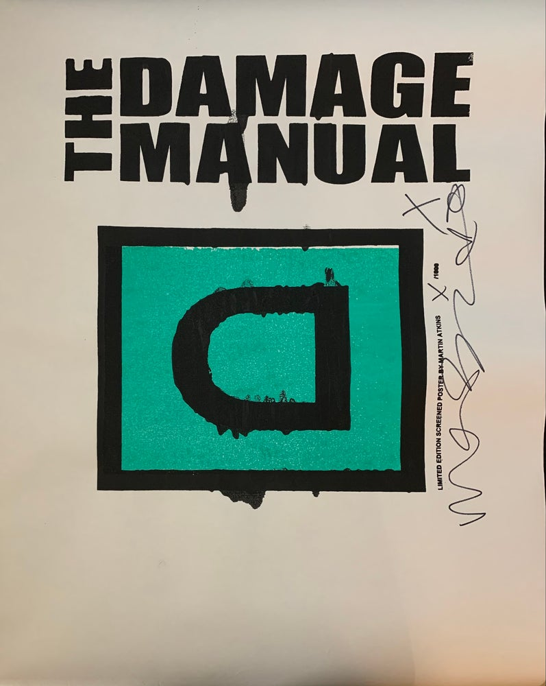 Image of Damage Manual Poster #6