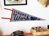Strong Work Pennant