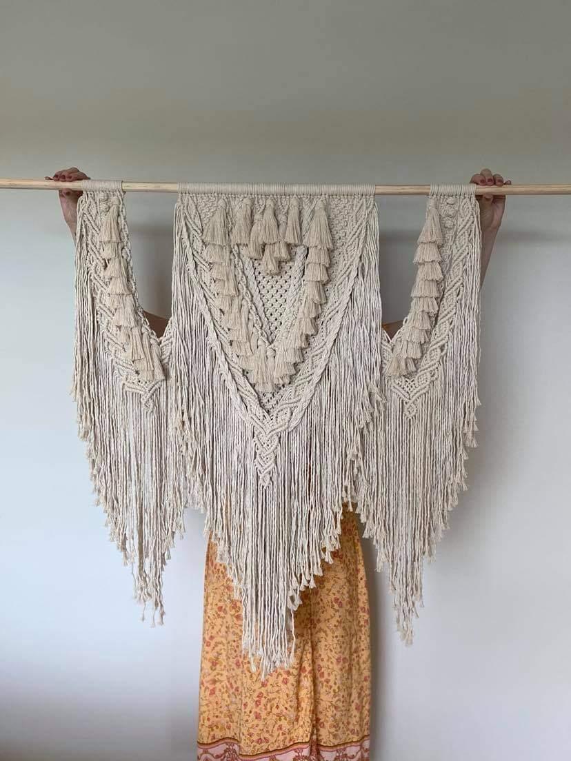 Image of Large macrame hanging
