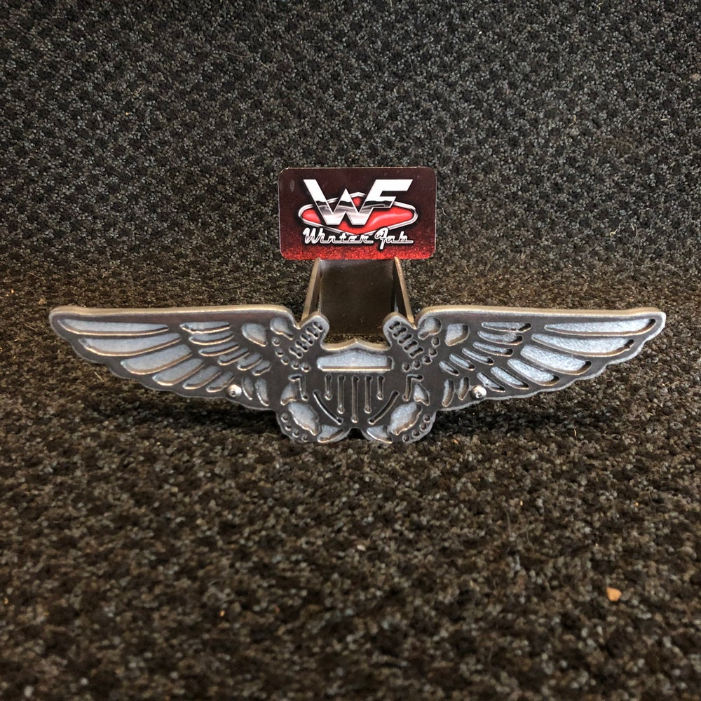 Image of Naval Flight Officer Wings / Badge Hitch Cover