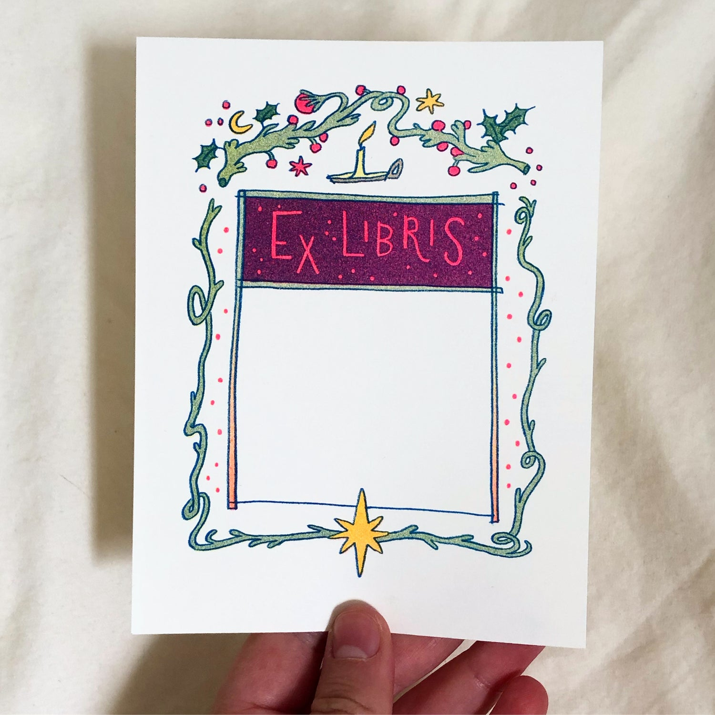 Ex Libris ~ Nutcracker Bookplate