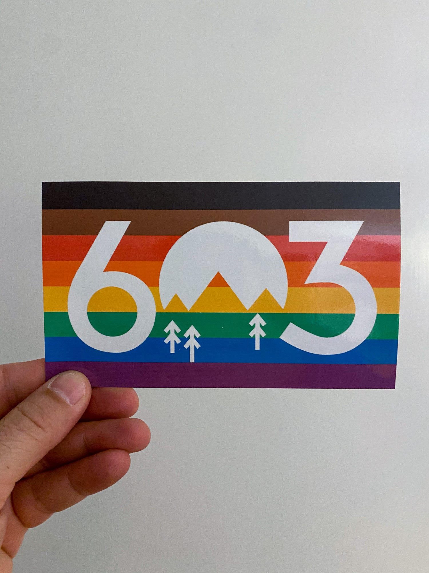 Image of 603 Together Sticker