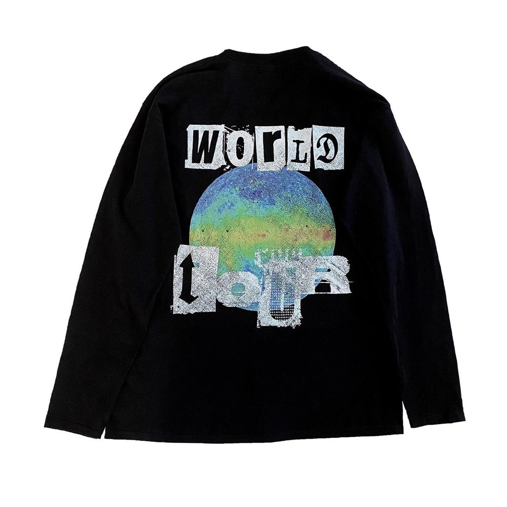 Image of LXRY APPAREL WORLD TOUR LONG SLEEVE (SITE EXCLUSIVE)*