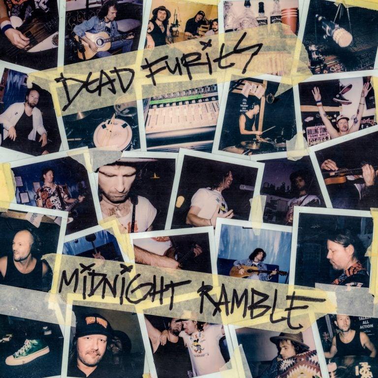 """Dead Furies """"Midnight Ramble"""" LP"""