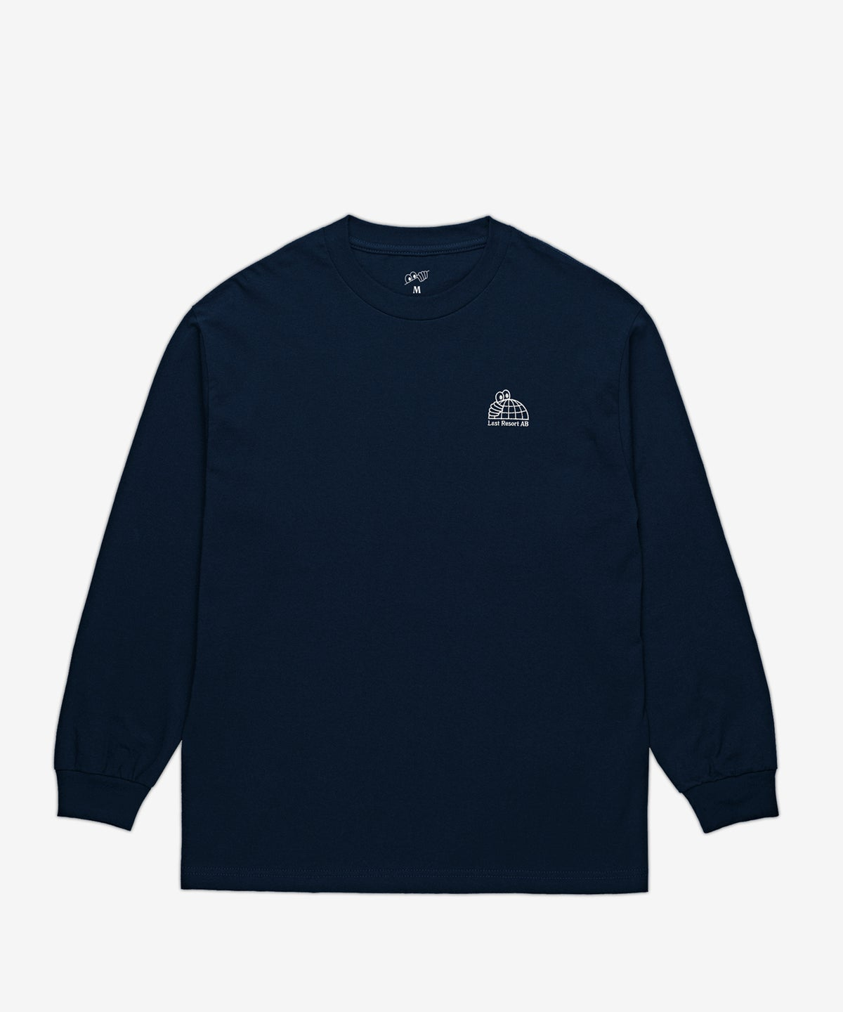 Image of LAST RESORT AB_HALF GLOBE L/S :::NAVY:::