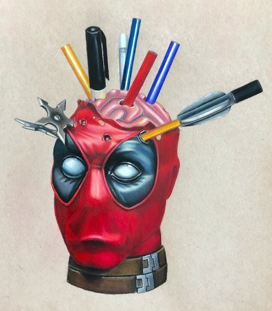 Image of DeadPool Limited Edition Print