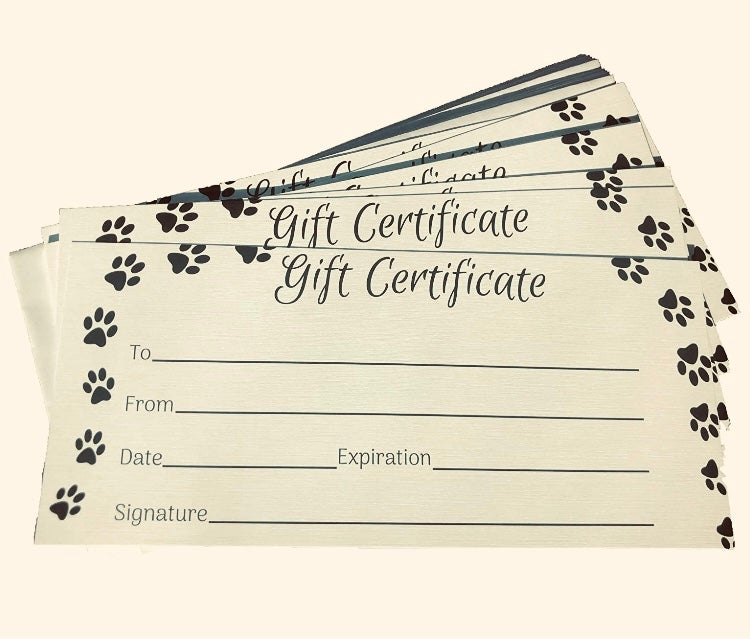 Image of Gift Certificate $20