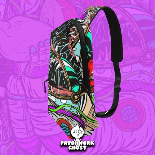 Image of Psychonaut All Over Print Chestbag