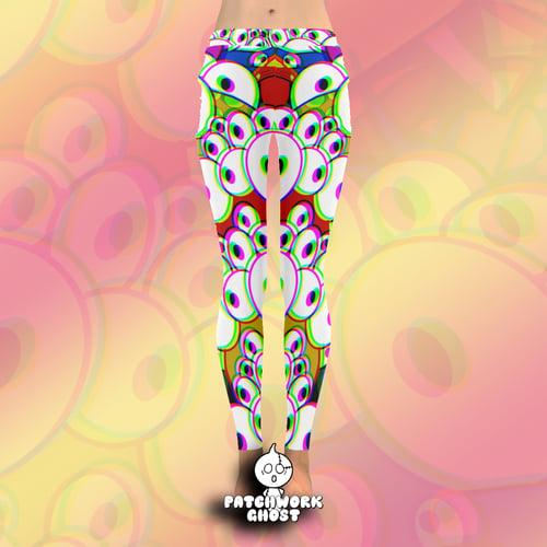Image of Blinky All Over Print Leggings