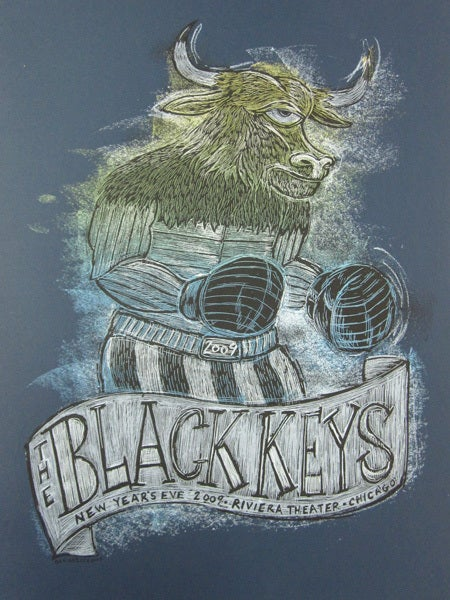 The Black Keys New Years Eve Poster