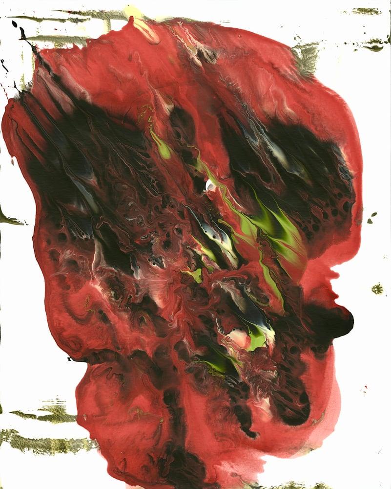 Image of Monoprint, Melt : 13, original art
