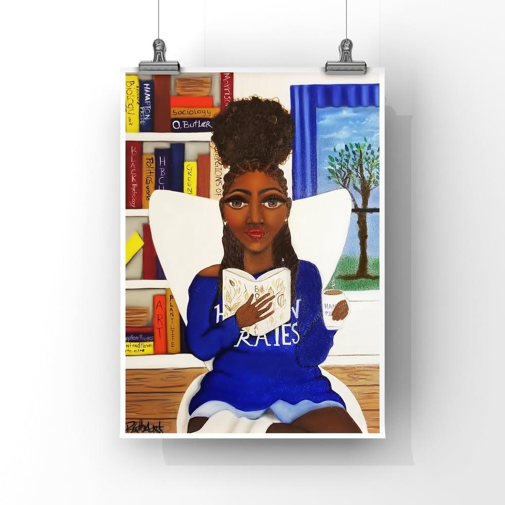 Image of Ms. Bookworm no.2  HBCU