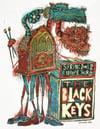 The Black Keys New Years European Tour Poster