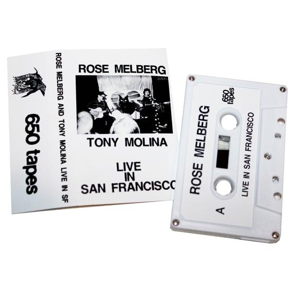 "Image of ROSE MELBERG & TONY MOLINA ""Live in San Francisco"" CS"