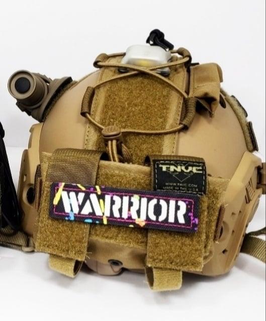 Image of Warrior splatter laser gitd