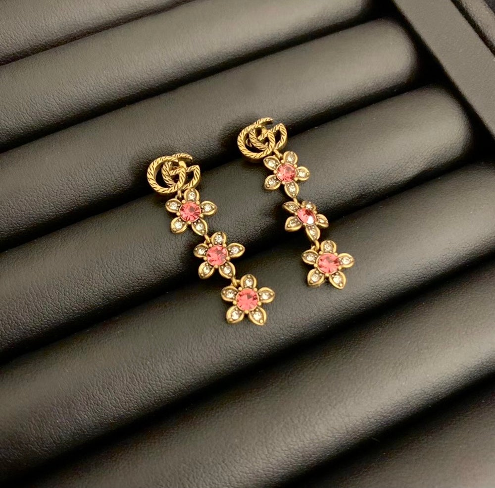 Image of GG Floral Earrings