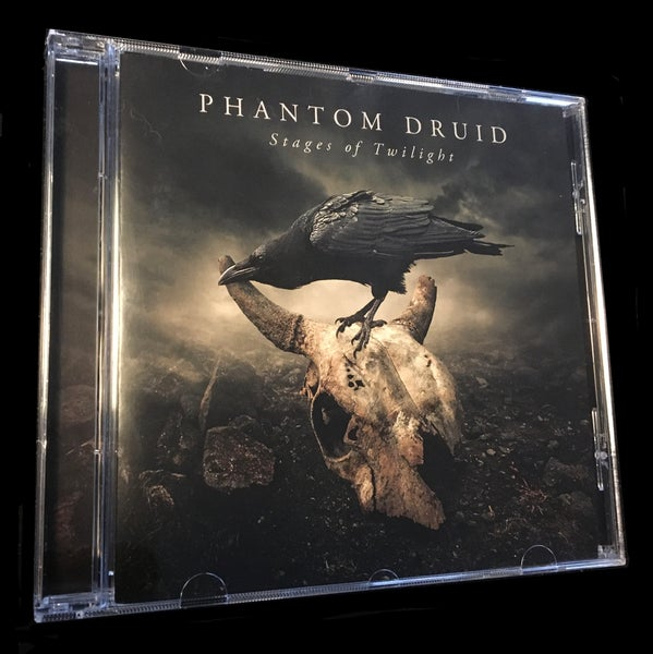 Image of PHANTOM DRUID - Stages of Twilight - Jewelcase CD.