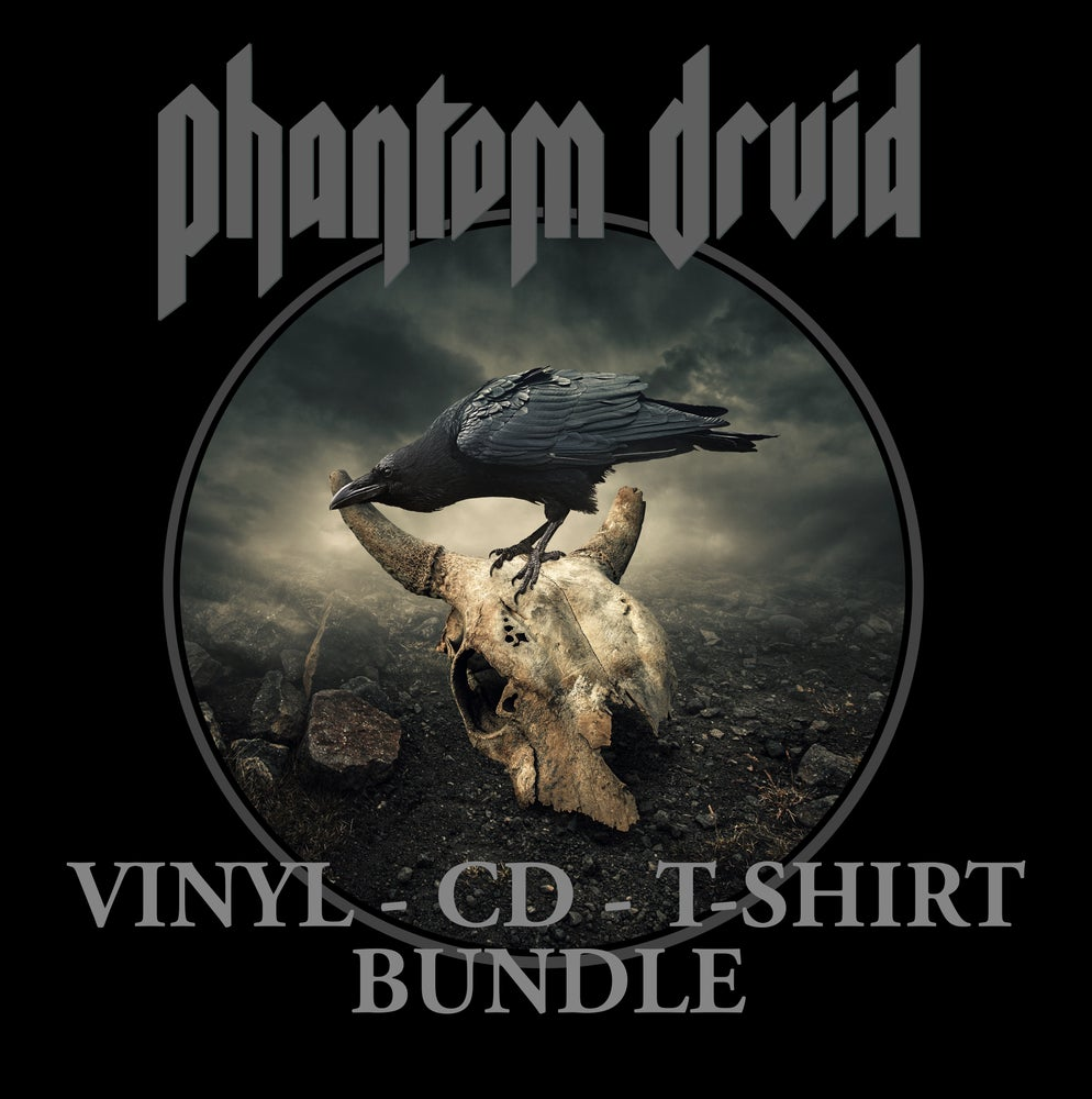 Image of PHANTOM DRUID - Stages of Twilight - Vinyl, Cd, T-Shirt Bundle.