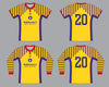Stockport County Shirts x Icarus FC Romania Shirt