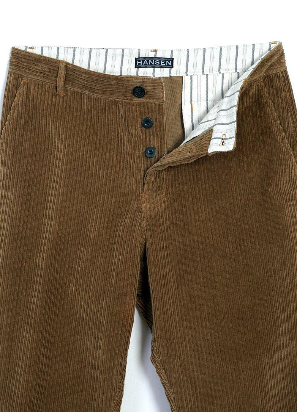 Hansen Corduroy Trousers KEN | Camel