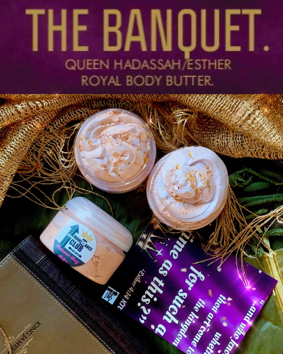 Image of PRE-ORDER!! The Banquet, Queen Hadassah/Esther Royal Body Butter.