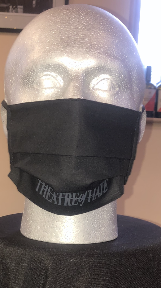 New Style THEATRE of HATE Face Mask