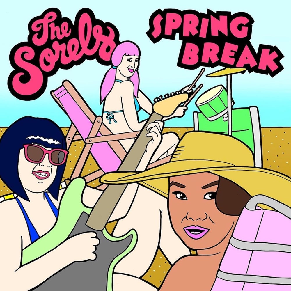 "Image of PREORDER - THE SORELS ""SPRING BREAK / PALO SANTO"" 7"""