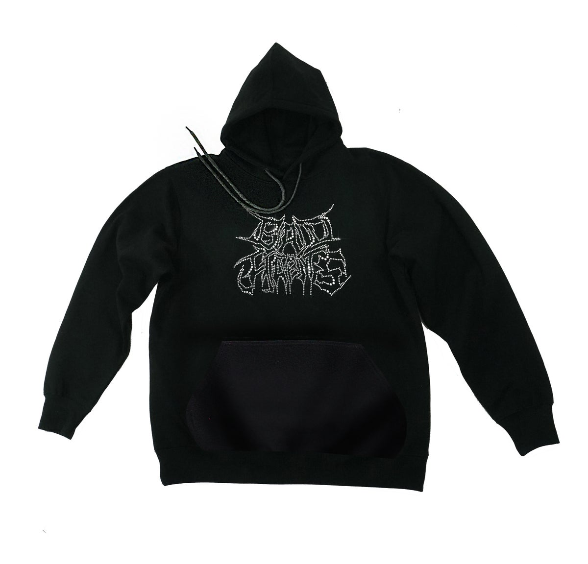 Image of Bad Habits - strass hoodie