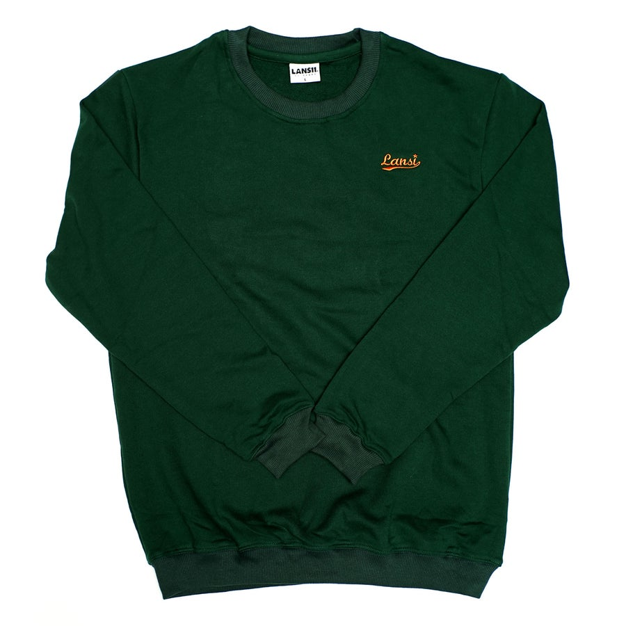 Image of LANSI Sweatshirt (Forest Green)