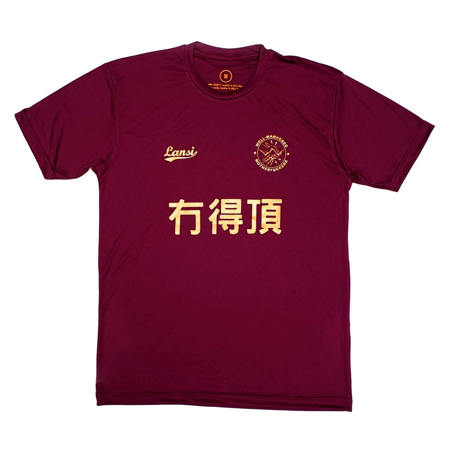 "Image of LANSI ""No Equal"" Jersey (Burgandy)"