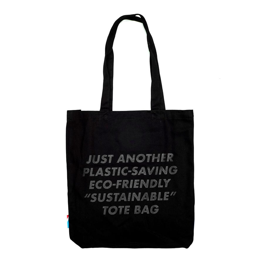 Image of LANSI Canvas Tote (Black)