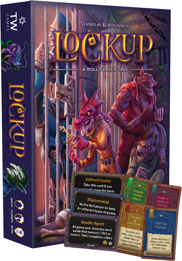 Image of Lockup: A Roll Player Tale (plus, FREE Kulbak expansion)