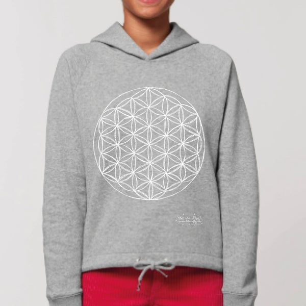 Image of Sweat-shirt femme *Flower of Life*